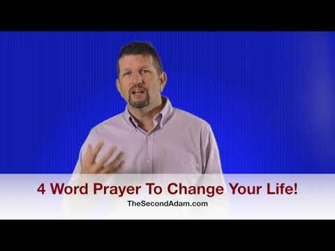 The 4 Word Prayer To Change Your Life! Kingdom Seekers #171