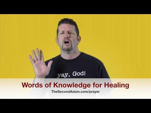Words of Knowledge for Healing – Kingdom Seekers #165