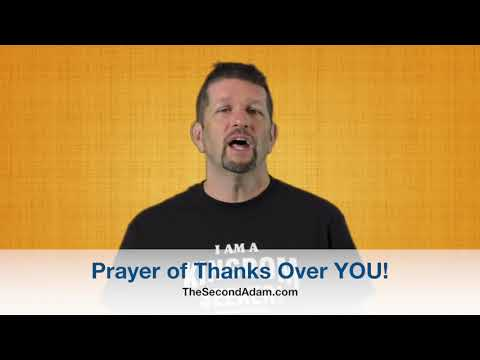A Prayer of Thanks Over YOU! Kingdom Seekers #196