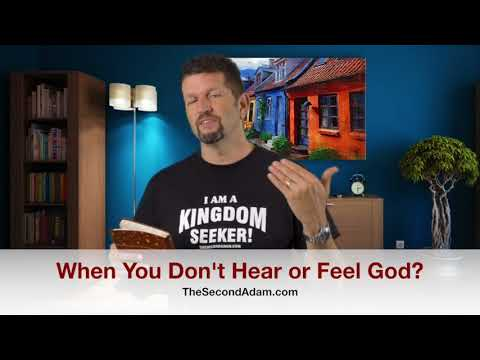 When You Don't Hear or See God? Kingdom Seekers #204