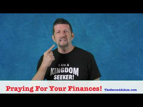 Praying For Your Finances! Marketplace Monday!