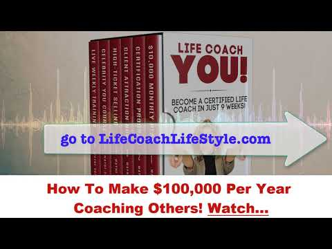 How To Make $100,000 Per Year Coaching Others! Watch…