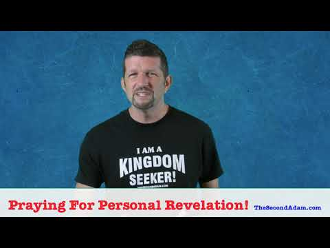 Personal Revelation for Your Life!
