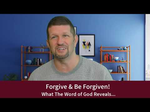 Forgive and Be Forgiven – Prophetic Ministry