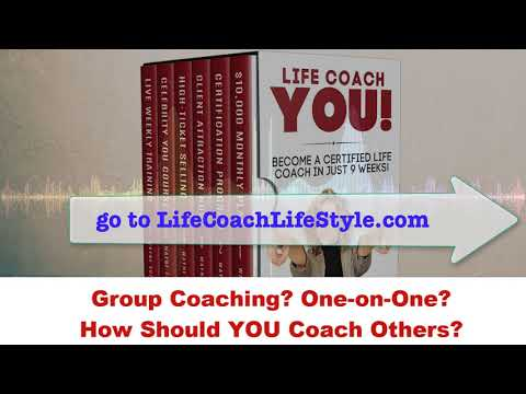 Should You Offer Group Coaching or One-on-One Coaching? Life Coach School