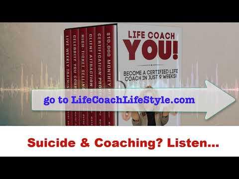 Suicide & Coaching – Listen… Life Coach School