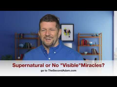 Supernatural or No Visible Miracles? Prophetic Reality