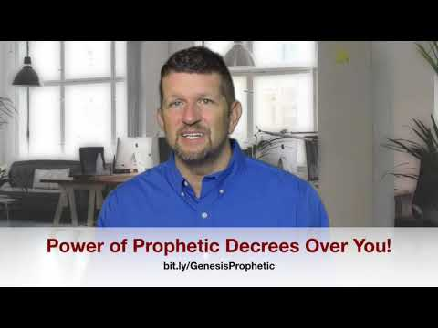 The Power of Prophetic Decrees In Your Life!