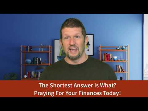 The Shortest Answer To Your Financial Miracle!