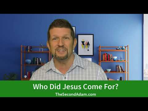 Who Did Jesus Come For? Prophetic Ministry