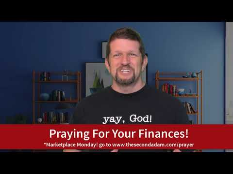 Prayer For Your Financial Blessings! Marketplace Monday!