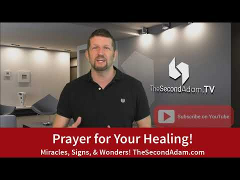 Prayer for Your Healing Today! Signs, Miracles, and Wonders!