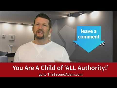 "You Are A Child of 'All Authority"" – Online Church"