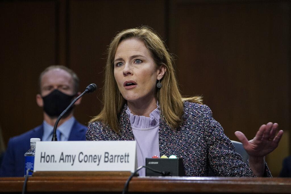 Amy Coney Barrett Responds to 'Cruel' Professor Who Called Her a 'White Colonizer' for Adopting Black Kids