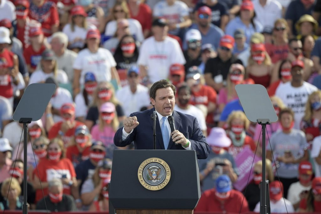 RON DESANTIS SAYS HE WILL PUT ON 'FULL ARMOR OF GOD' TO FIGHT LEFTISM