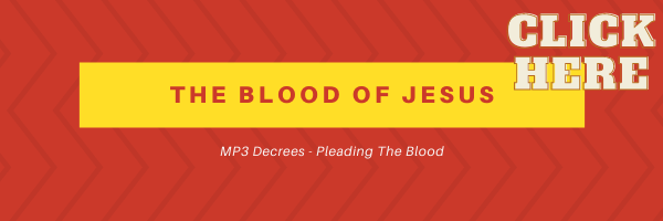 The Blood of Jesus Soaking Experience!