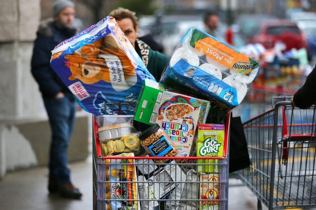 Food Hoarding Intensifies As Fears Of More Price Spikes Coming Soon